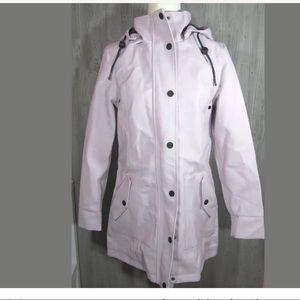 UGG RYLIE Rain Rubberized Trench Jacket Raincoat